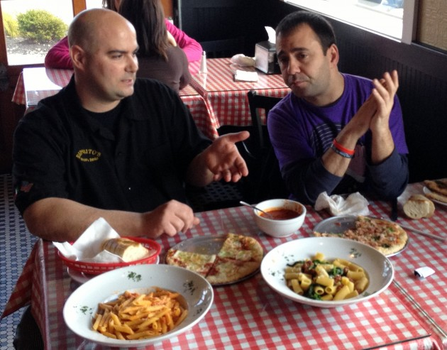 Esposito's Pizza and Pasta – Boss of the Sauce 2013 Tasting